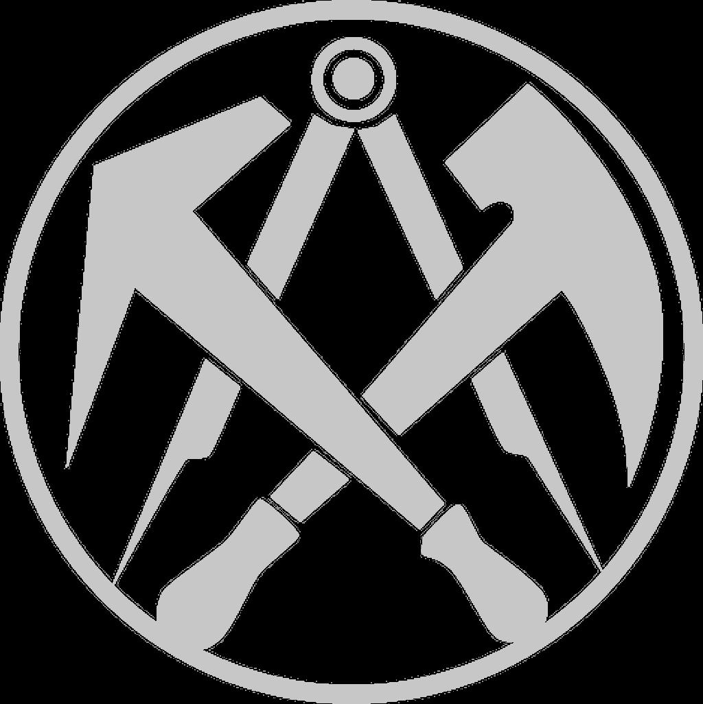 Dachdecker zunftzeichen  Dachdecker Symbol   Haus Deko Ideen